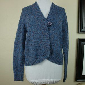 Hearts of Palm Long Sleeve Cardigan Button Front